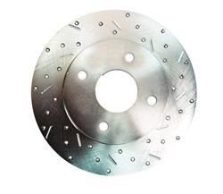 SSBC Performance Brakes - Big Bite Cross Drilled Rotors - SSBC Performance Brakes 23010AA3R UPC: 845249010379