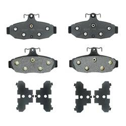 SSBC Performance Brakes - Big Bite Brake Pads - SSBC Performance Brakes 1603471 UPC: 845249004637 - Image 1