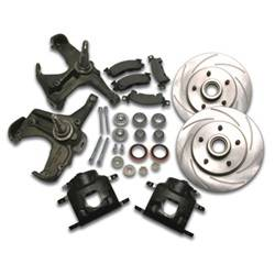 SSBC Performance Brakes - 80mm Disc To Disc Upgrade - SSBC Performance Brakes A126-11 UPC: 845249056292