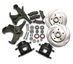 SSBC Performance Brakes - 80mm Disc To Disc Upgrade - SSBC Performance Brakes A126-13 UPC: 845249036904