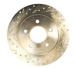 SSBC Performance Brakes - Big Bite Cross Drilled Rotors - SSBC Performance Brakes 23051AA3L UPC: 845249000288