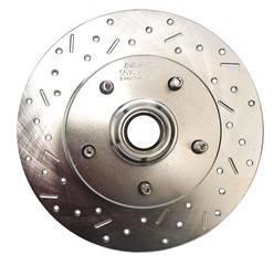 SSBC Performance Brakes - Big Bite Cross Drilled Rotors - SSBC Performance Brakes 23036AA3L UPC: 845249010942 - Image 1