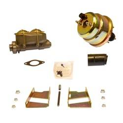 SSBC Performance Brakes - 7 in. Dual Diaphragm Booster/Master Cylinder - SSBC Performance Brakes A28136 UPC: 845249047559