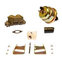 SSBC Performance Brakes - 7 in. Dual Diaphragm Booster/Master Cylinder - SSBC Performance Brakes A28136 UPC: 845249047559 - Image 1