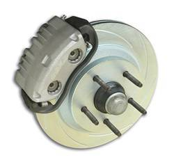 SSBC Performance Brakes - 2-Piston Drum To Disc Brake Conversion Kit - SSBC Performance Brakes A123-6 UPC: 845249035266