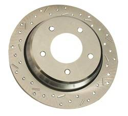 SSBC Performance Brakes - Big Bite Cross Drilled Rotors - SSBC Performance Brakes 23049AA3L UPC: 845249011161