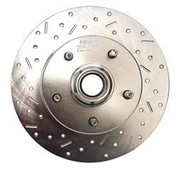SSBC Performance Brakes - Big Bite Cross Drilled Rotors - SSBC Performance Brakes 23026AA3L UPC: 845249000165