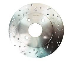 SSBC Performance Brakes - Big Bite Cross Drilled Rotors - SSBC Performance Brakes 23010AA3L UPC: 845249010362