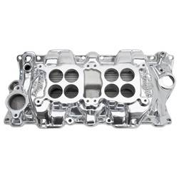 Edelbrock - C-26 Dual-Quad Intake Manifold - Edelbrock 54251 UPC: 085347542512