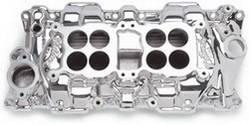 Edelbrock - C-26 Dual-Quad Intake Manifold - Edelbrock 54254 UPC: 085347542543