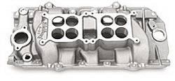 Edelbrock - C-66-Dual-Quad Intake Manifold - Edelbrock 54211 UPC: 085347542116