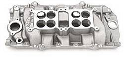Edelbrock - C-66-Dual-Quad Intake Manifold - Edelbrock 5421 UPC: 085347054213