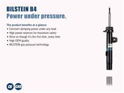 Bilstein Shocks - B4 Series OE Replacement Shock Absorber - Bilstein Shocks 19-214320 UPC: 651860709680 - Image 1