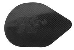 K&N Filters - Composite Carbon Fiber Hood Scoop Plug - K&N Filters 100-8519 UPC: 024844323453 - Image 1