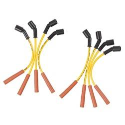 ACCEL - Custom Fit Super Stock Spiral Spark Plug Wire Set - ACCEL 5059Y UPC: 743047010723