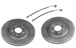 Ford Racing - Severe Duty Brake Upgrade Kit - Ford Racing M-2400-C UPC: 756122281383 - Image 1