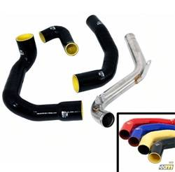 Ford Performance Parts - Mountune Intercooler Charge Pipe Upgrade Kit - Ford Performance Parts 2363-CPK-YEL UPC: 855837005113 - Image 1