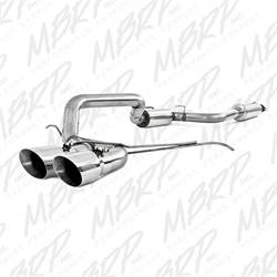 MBRP Exhaust - Pro Series Cool Duals Cat Back Exhaust System - MBRP Exhaust S4200304 UPC: 882963118639