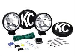 KC HiLites - KC Apollo Series Driving Light Kit - KC HiLites 456 UPC: 084709004569 - Image 1