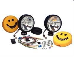 KC HiLites - Daylighter Long Range Light w/Shock Mount Housing - KC HiLites 238 UPC: 084709002381 - Image 1
