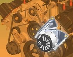 Powermaster - Dual Alternator Kit - Powermaster 8-751 UPC: 692209010654 - Image 1