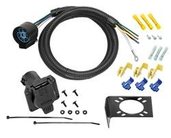 Tow Ready - 7-Way Trailer Wiring Harness Connector - Tow Ready 20224 UPC: 016118066470 - Image 1