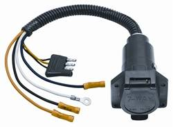 Tow Ready - 4-Flat to 7-Way Flat Pin Connector Adapter - Tow Ready 20321-012 UPC: 016118066913 - Image 1