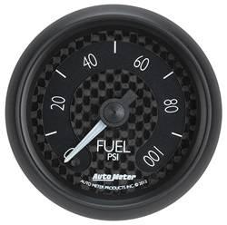 Auto Meter - GT Series Electric Fuel Pressure Gauge - Auto Meter 8063 UPC: 046074080630 - Image 1