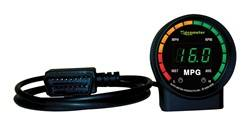 Auto Meter - Ecometer Fuel Consumption Gauge - Auto Meter 9105 UPC: 046074091056