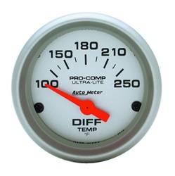 Auto Meter - Ultra-Lite Electric Differential Temperature Gauge - Auto Meter 4349 UPC: 046074043499 - Image 1