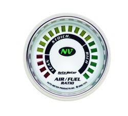Auto Meter - NV Electric Air Fuel Ratio Gauge - Auto Meter 7375 UPC: 046074073755 - Image 1
