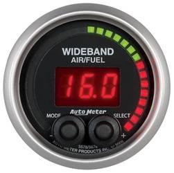 Auto Meter - Elite Series Wide Band Air Fuel Ratio Gauge - Auto Meter 5678 UPC: 046074056789 - Image 1