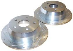 Crown Automotive - Drilled And Slotted Rotor Set - Crown Automotive 52098666DS UPC: 849603001584 - Image 1